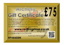 Red Frog £75 Gift Certificate
